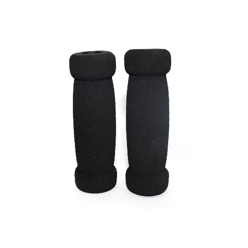 A KICK FOAM HANDLEBAR GRIPS - BLACK (SET OF 2)