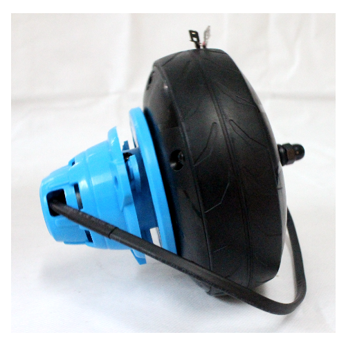 POWER CORE E100 REAR WHEEL W/HUB MOTOR - BLUE